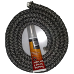 Glow Boy Pellet Stove Door Rope Kit 5/8