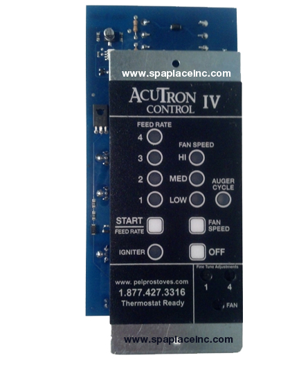 Glow Boy Pellet Stove Accutron 4 Digital Control Board With Thermostat